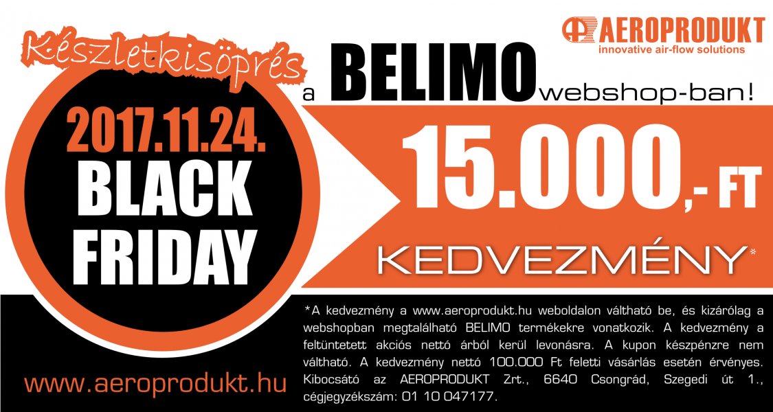 Belimo Black Friday
